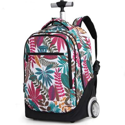 Mochila con sistema trolley simple.